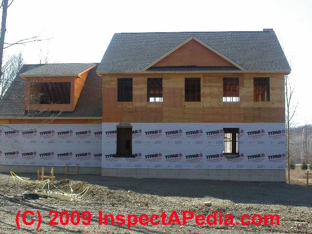 How to choose install housewrap tyvek typar homewrap for Sheathing house wrap
