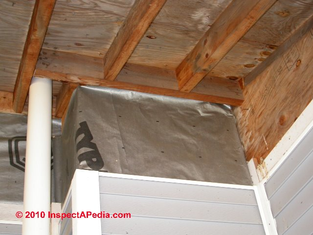 House wrap installation details for Sheathing house wrap