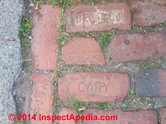 Brick Patio Not Slippery (C) Daniel Friedman Antique Bricks Used In A  Walkway, New York (C) Daniel Friedman