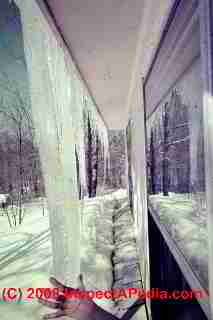 Severe ice dams, eaves to ground in Poughkeepsie NY