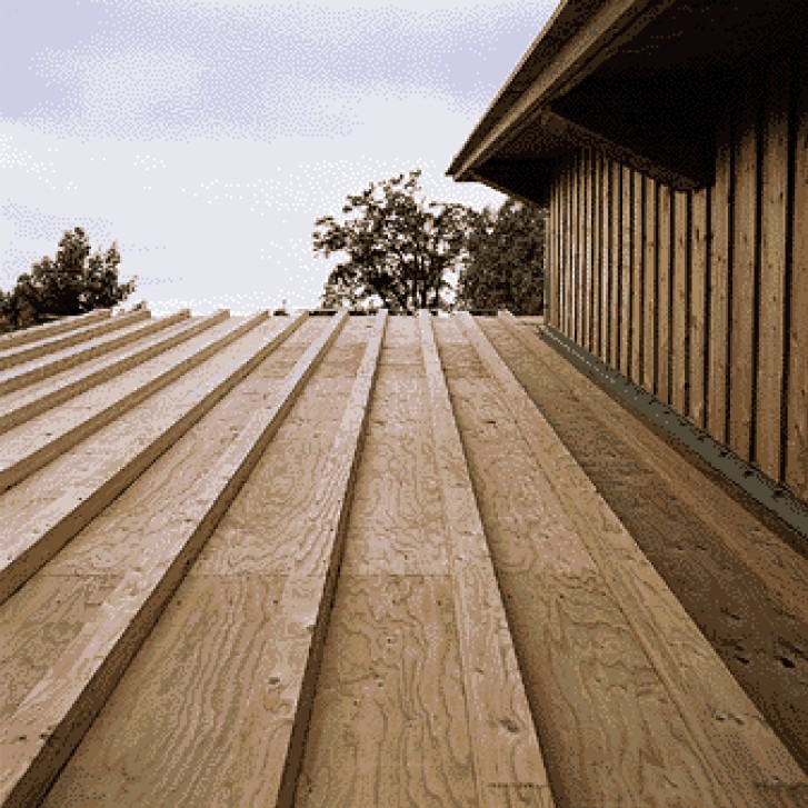Roof wall floor sheathing products for What to use for roof sheathing