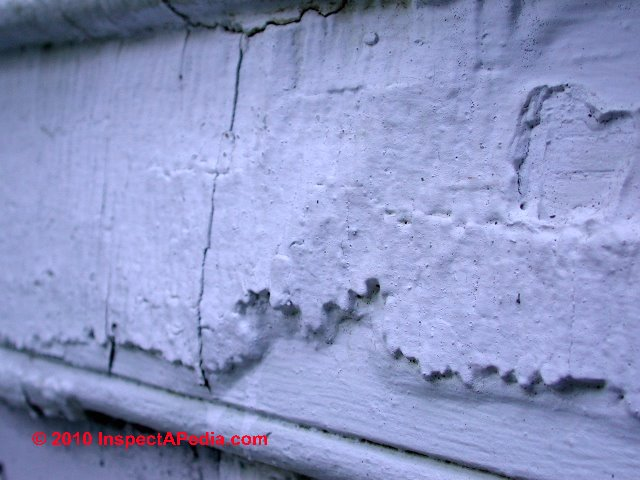 Paint Analysis Peeling Paint Diagnosing And Preventing Paint Failure On Building Exteriors