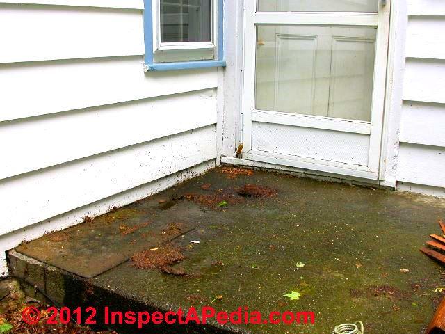 Rain Splash Up Or Lawn Sprinkler Damage To Wood Siding On