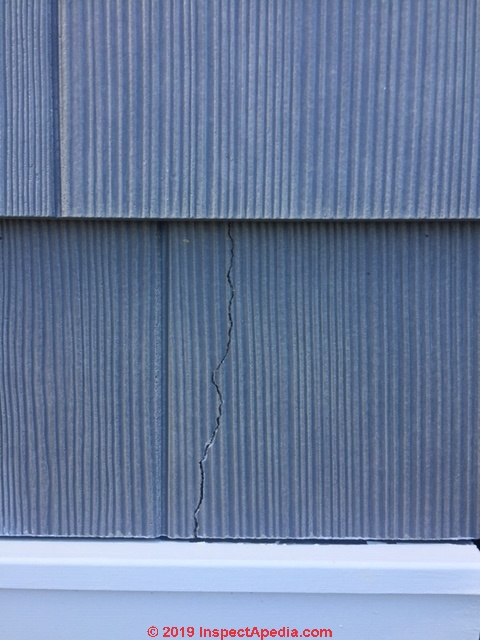 Fiber Cement Shingle Or Shake Siding Board Defectsfield Report Of Fiber Cement Siding Product
