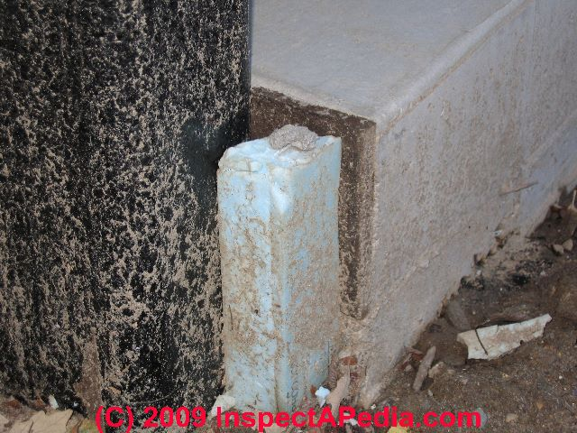 Termite shields for foam board insulated buildings for Insulated concrete foam