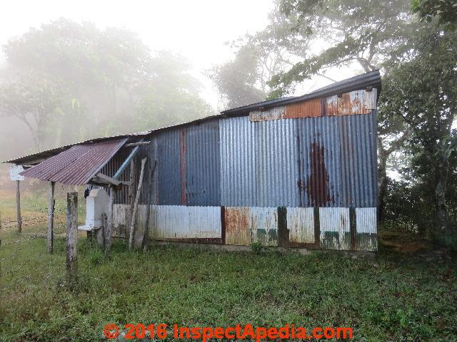 Corrugated Steel Siding (C) Daniel Friedman Oxaca
