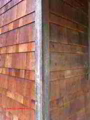 Wood Siding Corner details (C) Daniel Friedman Paul Galow