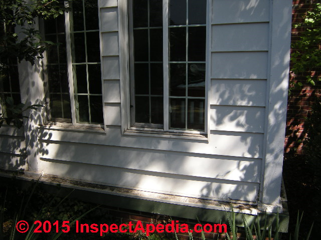 Siding Or Wall To Slab Or Foundation Top Flashing Wall