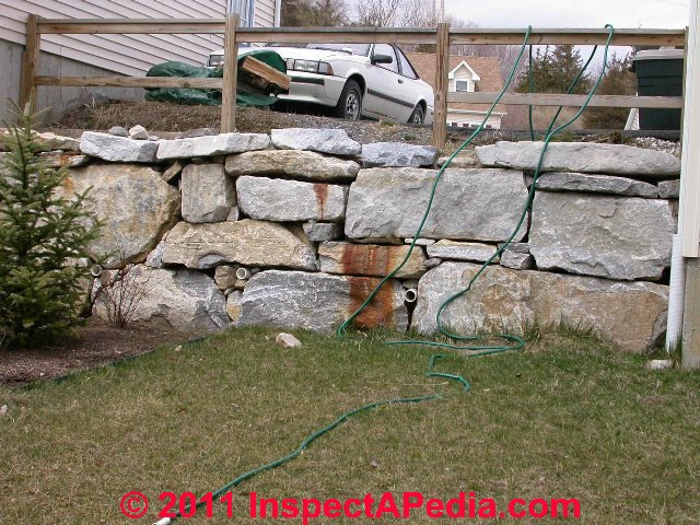 Retaining Wall Guardrails, Requirements For Guardrailings Along