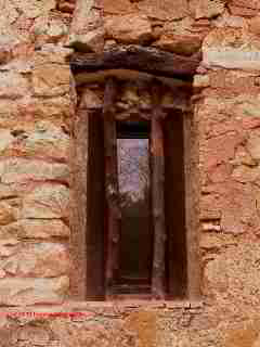 Antique wood framed window, Rugat, Spain © Daniel Friedman