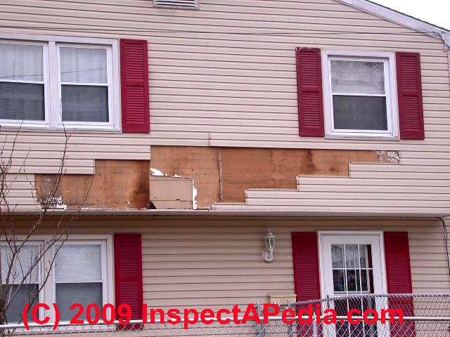 Vinyl Siding And Vapor Barriers Ashi Home Inspectors