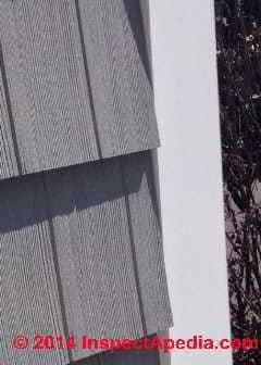 Fiber Cement Shingle Or Shake Siding Board Defectsfield