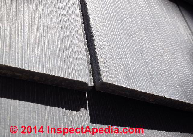 Fiber Cement Shingle Or Shake Siding Board Defectsfield