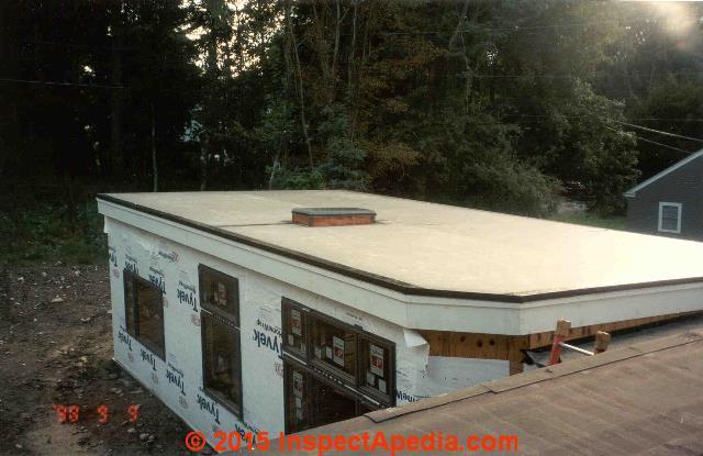 Curbed Skylight On A Flat Roof (C) Daniel Friedman