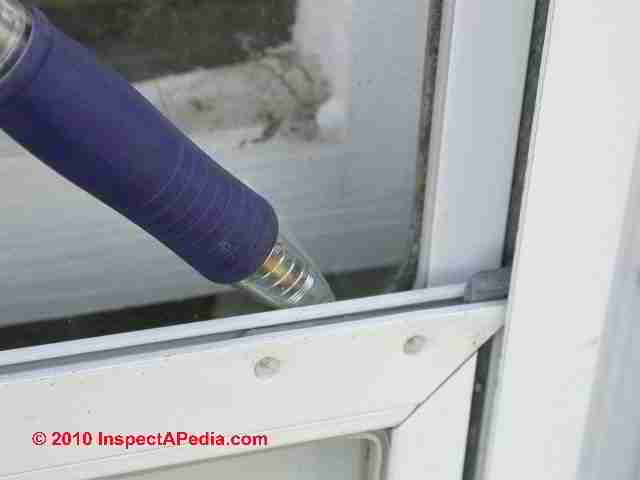 Why are weep openings needed on storm windows?