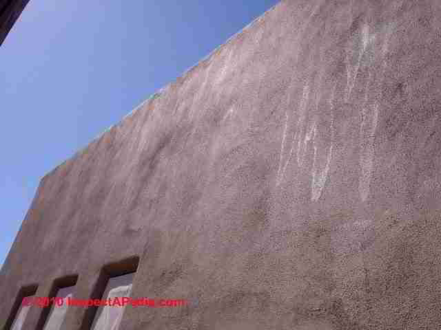 Stucco paint failure diagnosis stucco painting advice - How fast does exterior paint dry ...