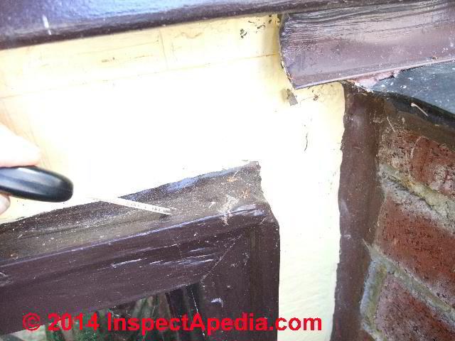 Details for installing exterior trim on buildings for Window z flashing