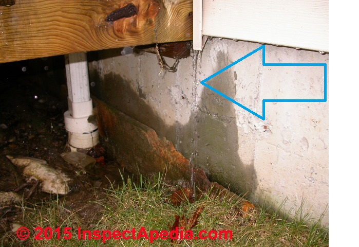 how to detect leak in siding