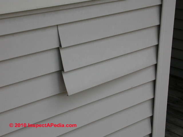 Vinyl Siding Inspection And Repair Guide Vinyl Siding
