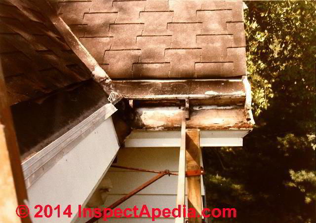 Gutter Repairs Using Epdm Liquid Rubber For Eaves Trough