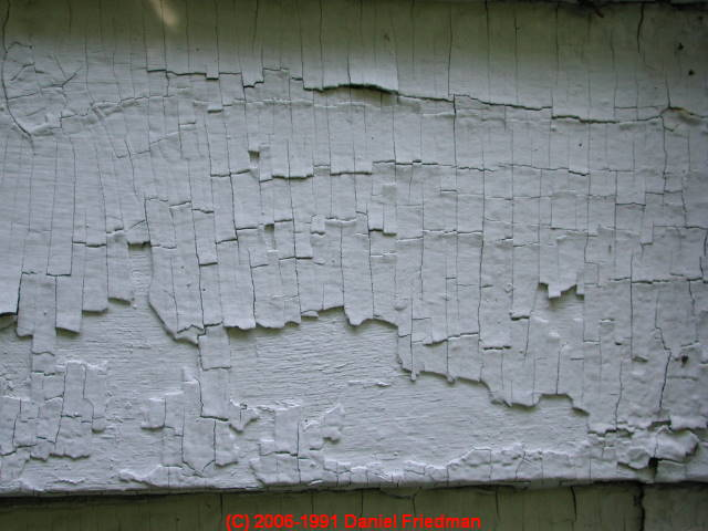 dictionary of types of causes of paint failure paint