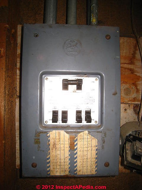Old Fuse Box 1940 - DIY Wiring Diagrams •