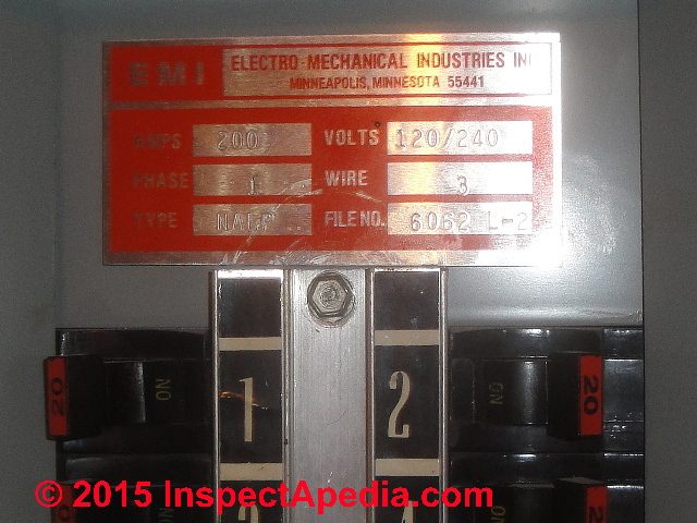 Emi Amp Private Label Federal Pacific Electric Fpe Stab Lok