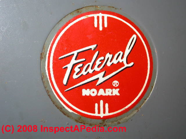 Federal NOARK electric panels: How to Identify Recognize Federal ...