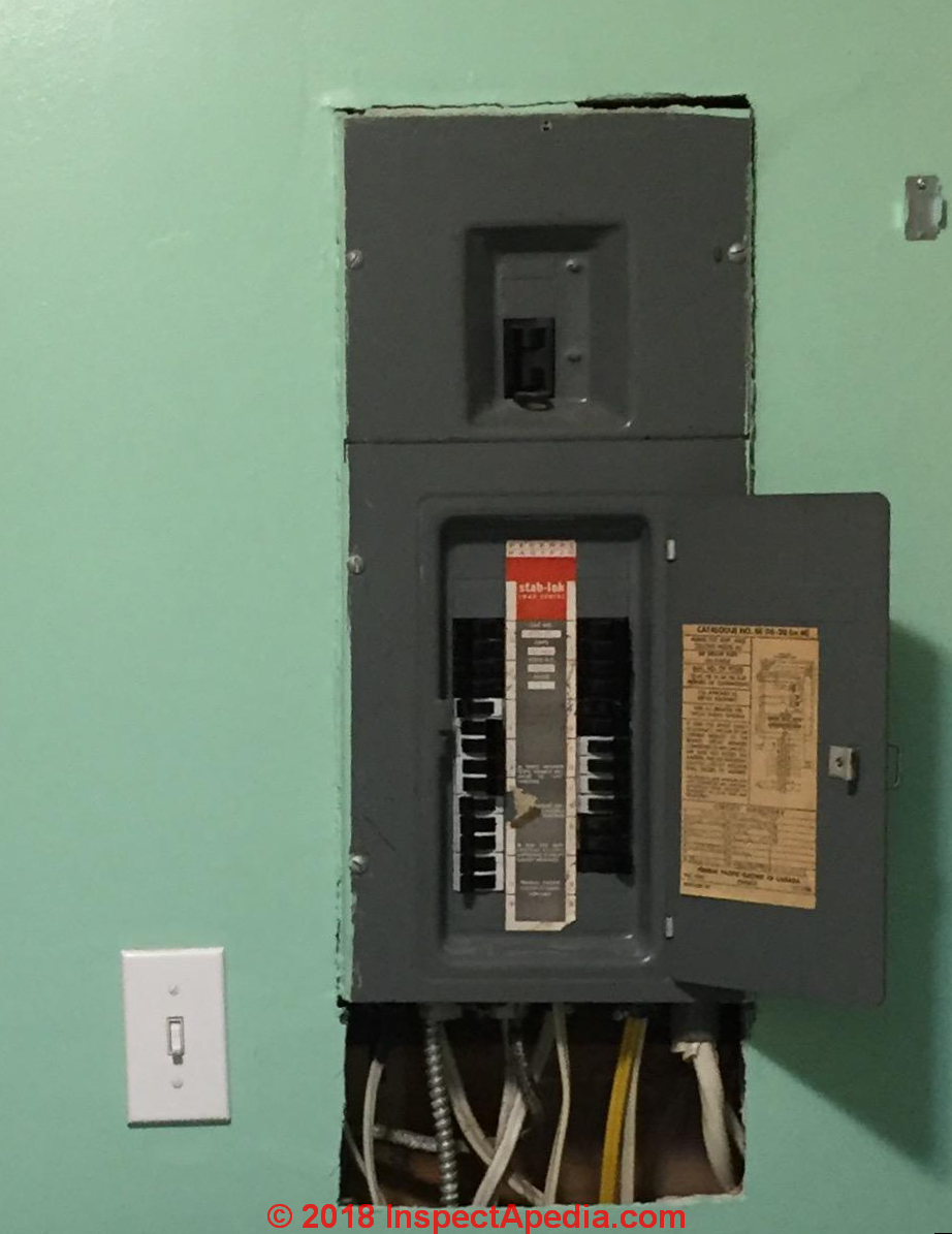 old fuse box 1940 detailed schematics diagram rh lelandlutheran com  Electrical Fuse Box murray 100 amp
