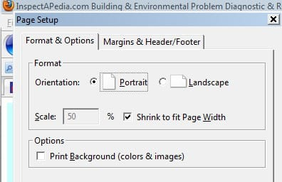 How to print a web page: How to Fit Web Pages Scaled to Fit