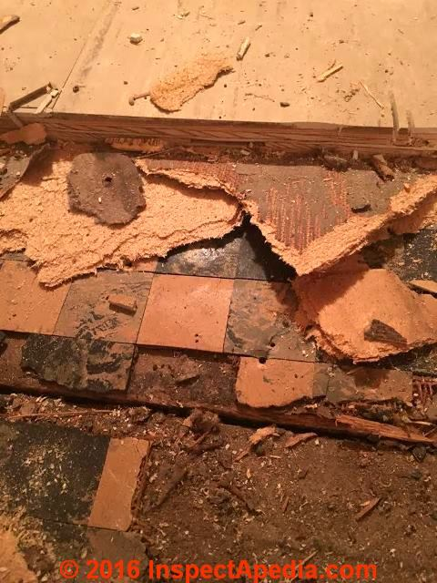 Asbestos Floor Tile Dimensions