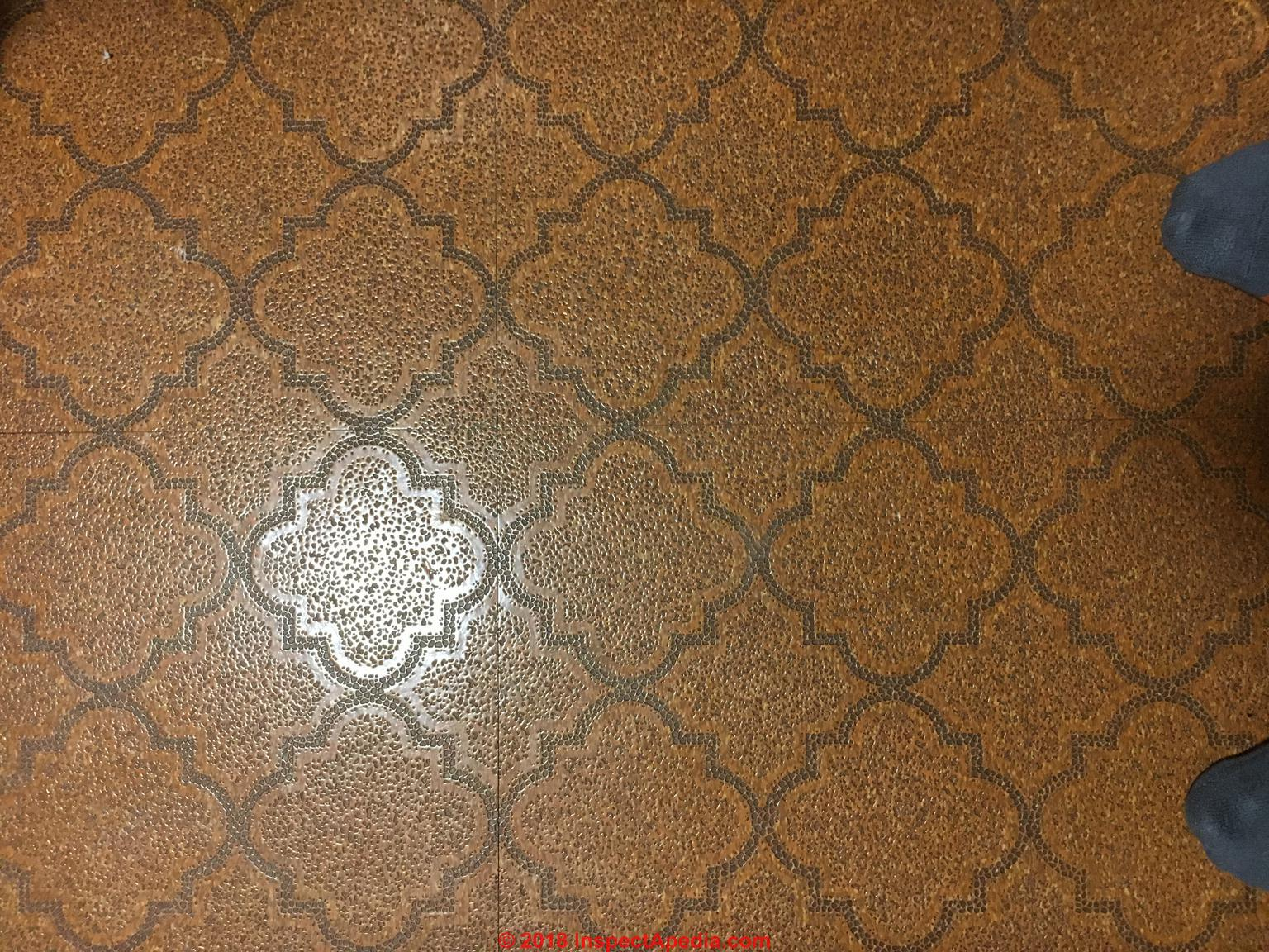 Qa On Indentifying Asbestos Containing Floor Tiles Set 5 Asbestos