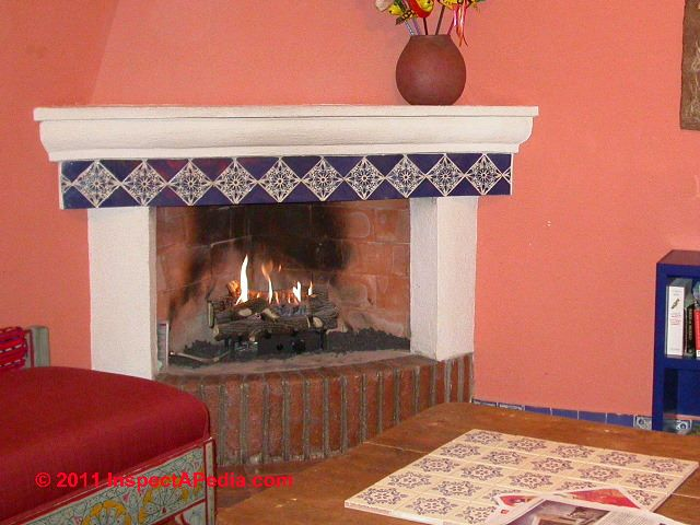 Gas fireplace & gas space heater inspection & defect checklists. This article lists significant gas heater or gas fireplace defects