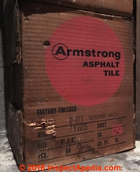 Armstrong Floor Tiles Amp Sheet Identification Photos 1951 1959