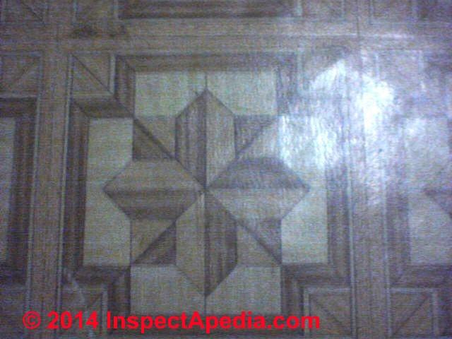 Photo Guide To VinylAsbestos Floor Tiles - Armstrong parquet vinyl floor tiles