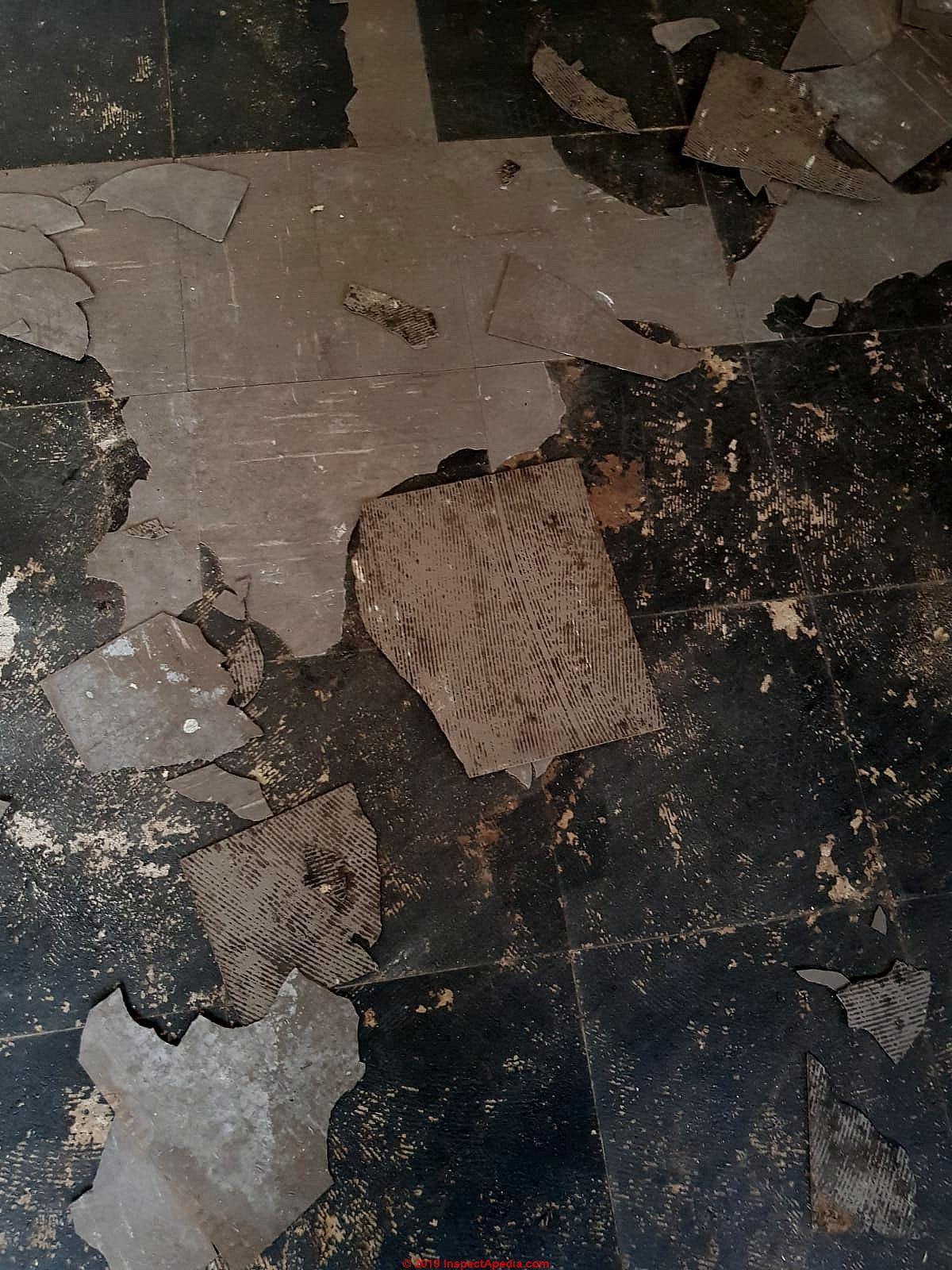Identify U K Floor Tiles That May Contain Asbestos