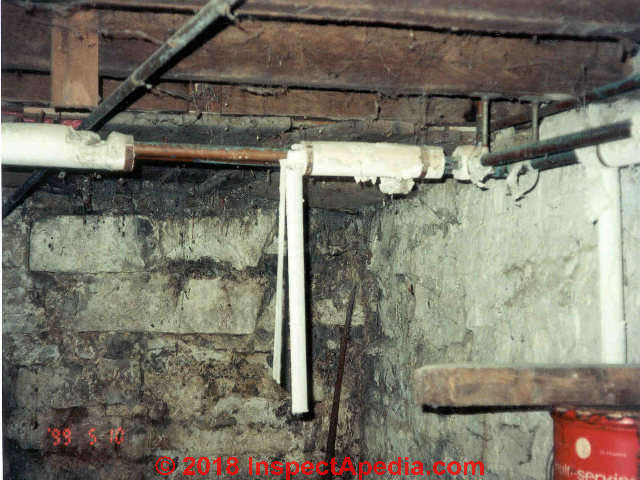 Asbestos insulation on pipes, identification & action guide