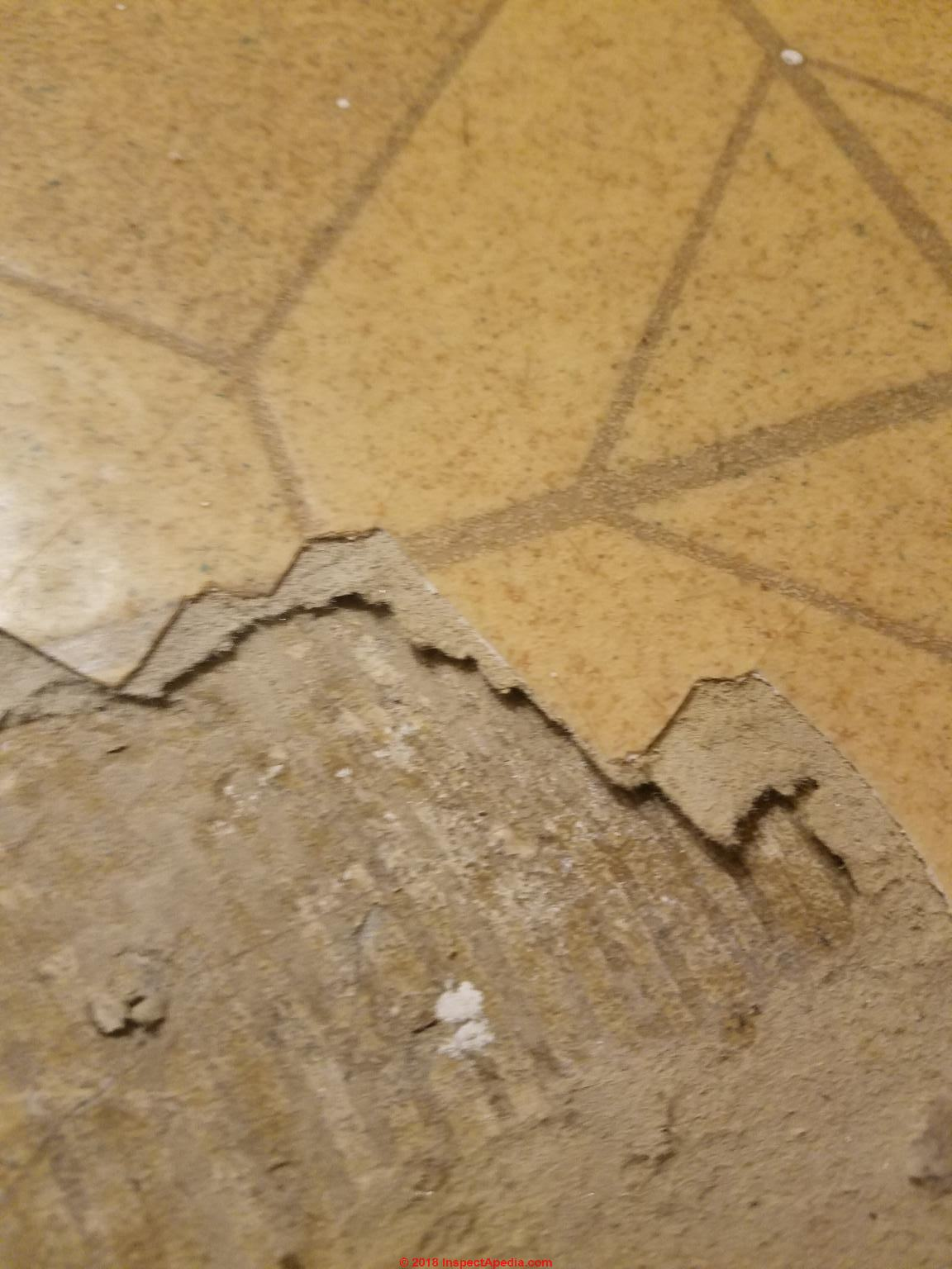 Q Amp A On Indentifying Asbestos Containing Floor Tiles Set