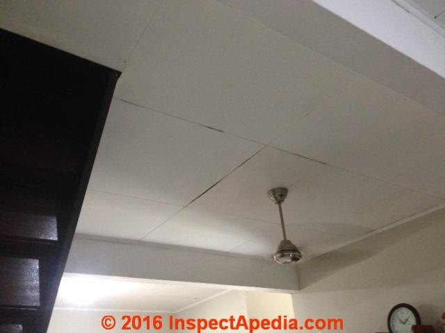 Asbestos Fibers Ceiling Tiles