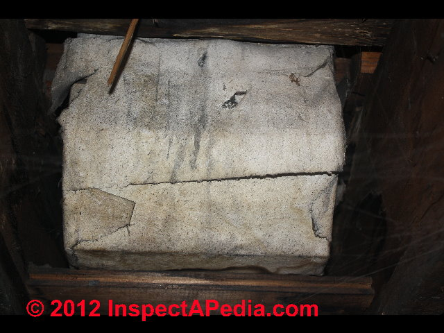 Identify Asbestos Paper Duct Wrap In Buildings Amp What To