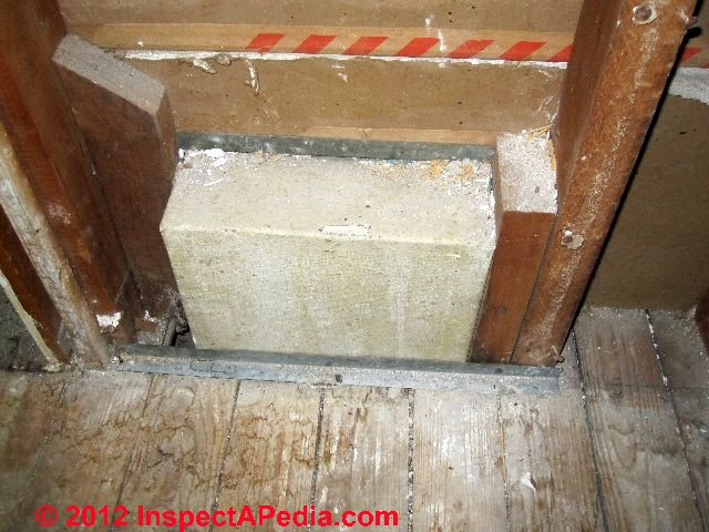 Identify asbestos paper duct wrap in buildings what to for House wrap definition