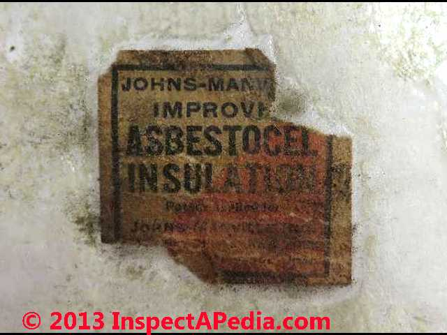 Asbestos heat sound insulation manufacture for Does drywall have asbestos