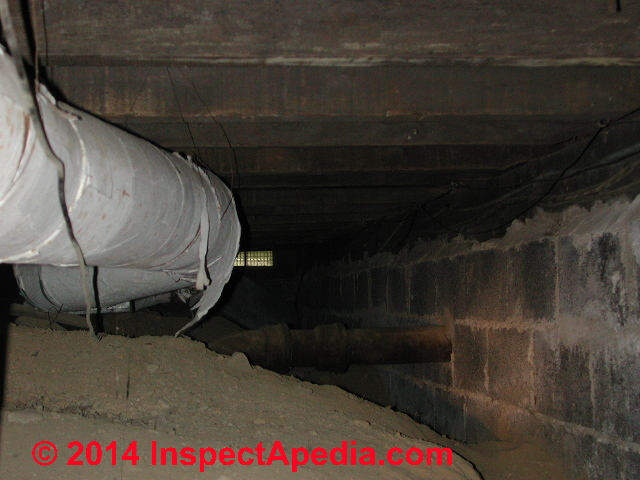 Identify Asbestos Paper Duct Wrap In Buildings What To Do About Asbestos Duct Insulation