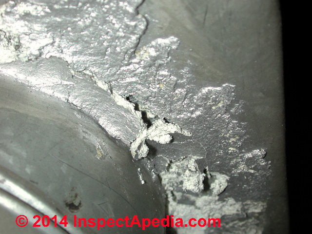 Asbestos In Air : Identify asbestos paper duct wrap in buildings what to