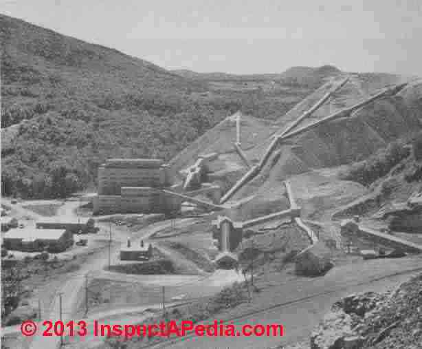Asbestos Mining In Us : Asbestos mine locations list of principal ore