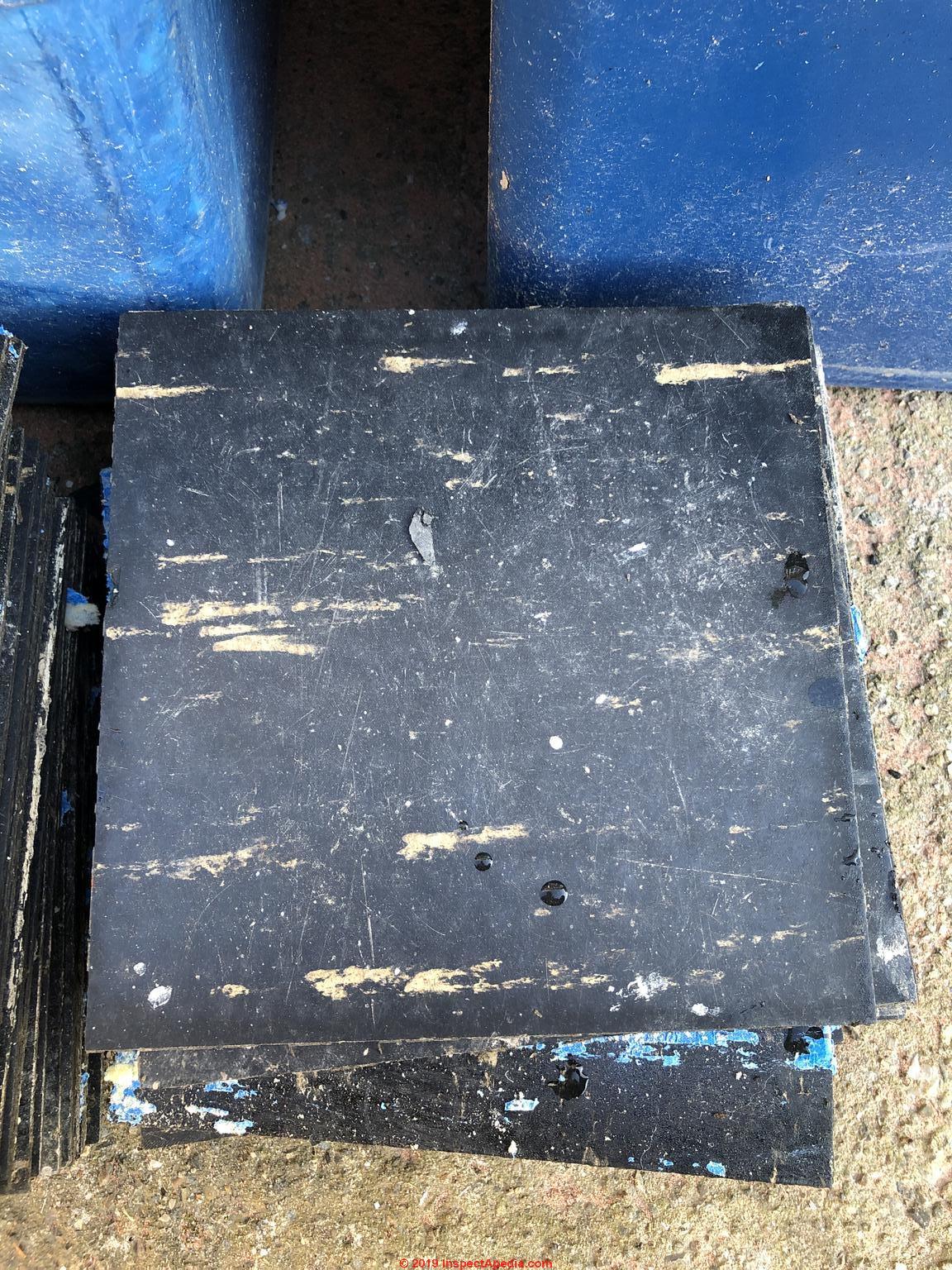 Asbestos Flooring Id Q Amp A 9 Asbestos Containing Floor Tile