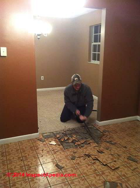 Asbestos Floor Tile / Sheet Flooring Removal Procedure Q&A