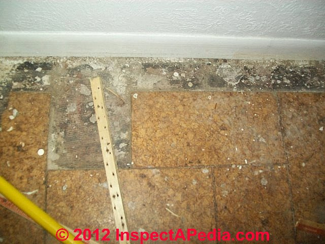 Question Our Home Has Asbestos Suspect Floor Tiles Prior Flooding
