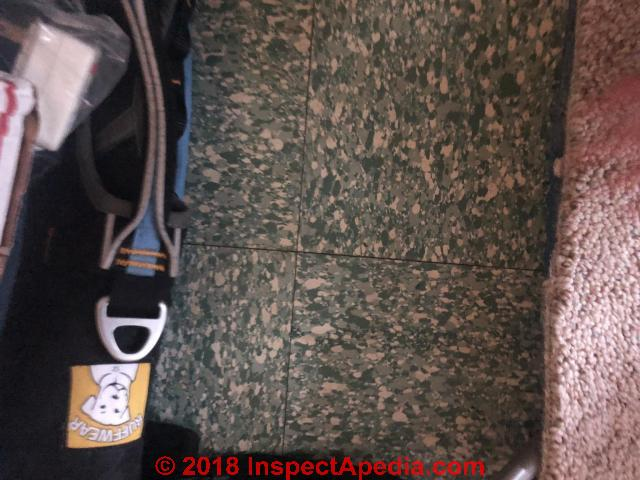 Asbestos Floor Tile Id Q A Asbestos Containing Floor Tile