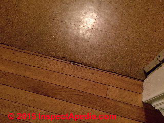 Photo guide to sears roebuck vinyl asbestos floor tiles for Linoleum cork